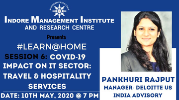 Ms.Pankhuri Rajput (Manager-Deloitte US India Advisory) talk
